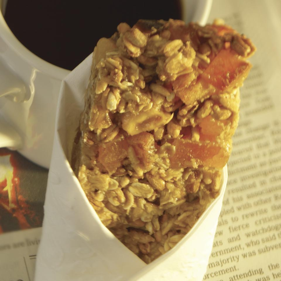 Apricot-Walnut Cereal Bars EatingWell Test Kitchen