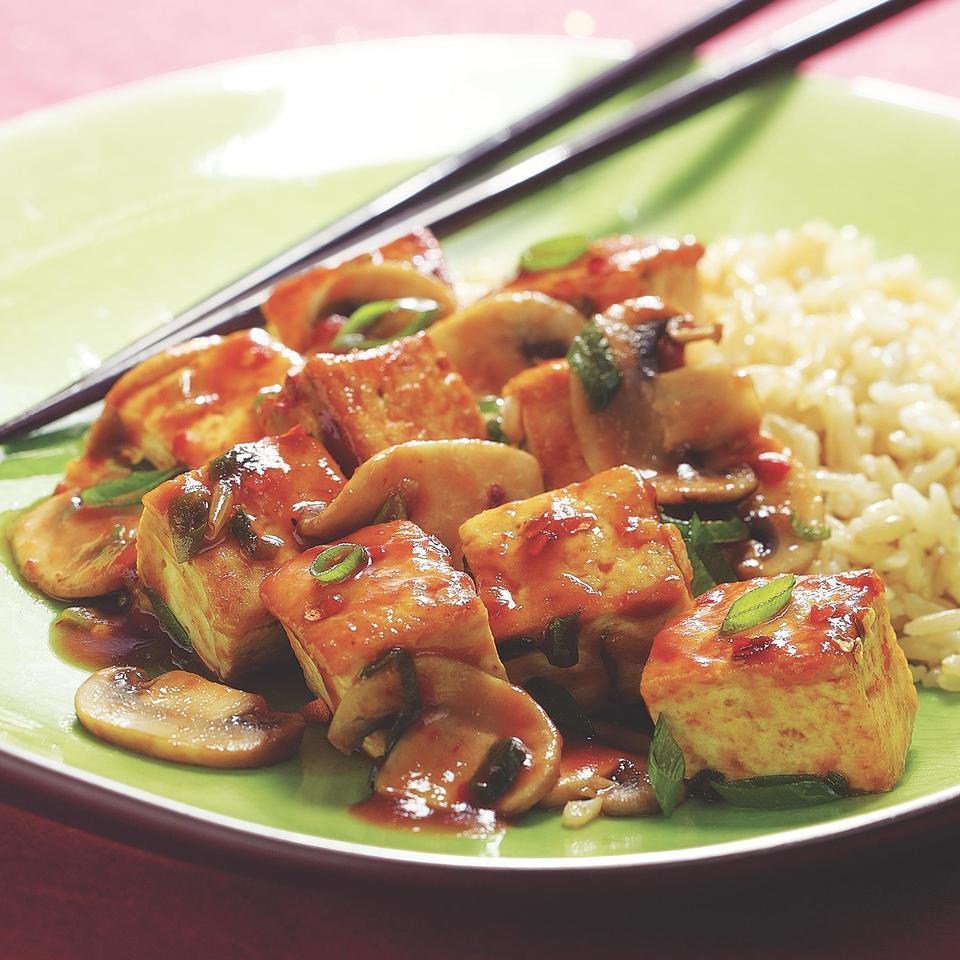 Sichuan-Style Tofu with Mushrooms Grace Young