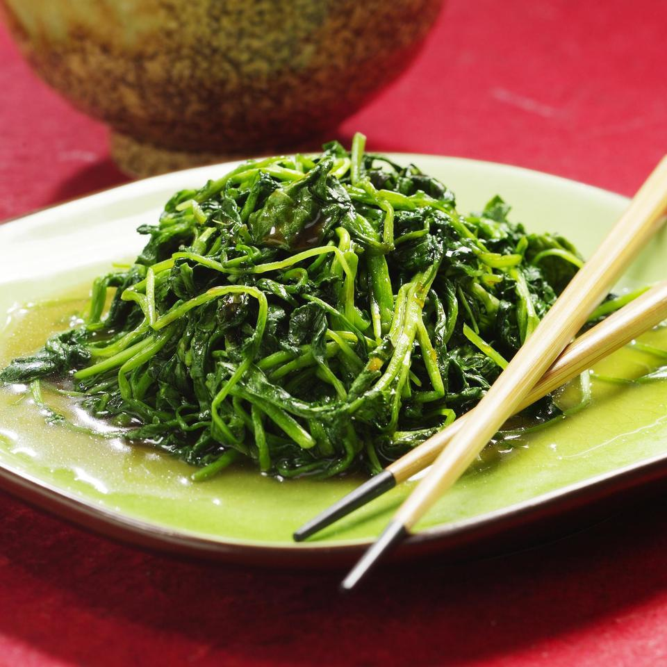 Watercress with Rice Wine-Oyster Sauce Grace Young