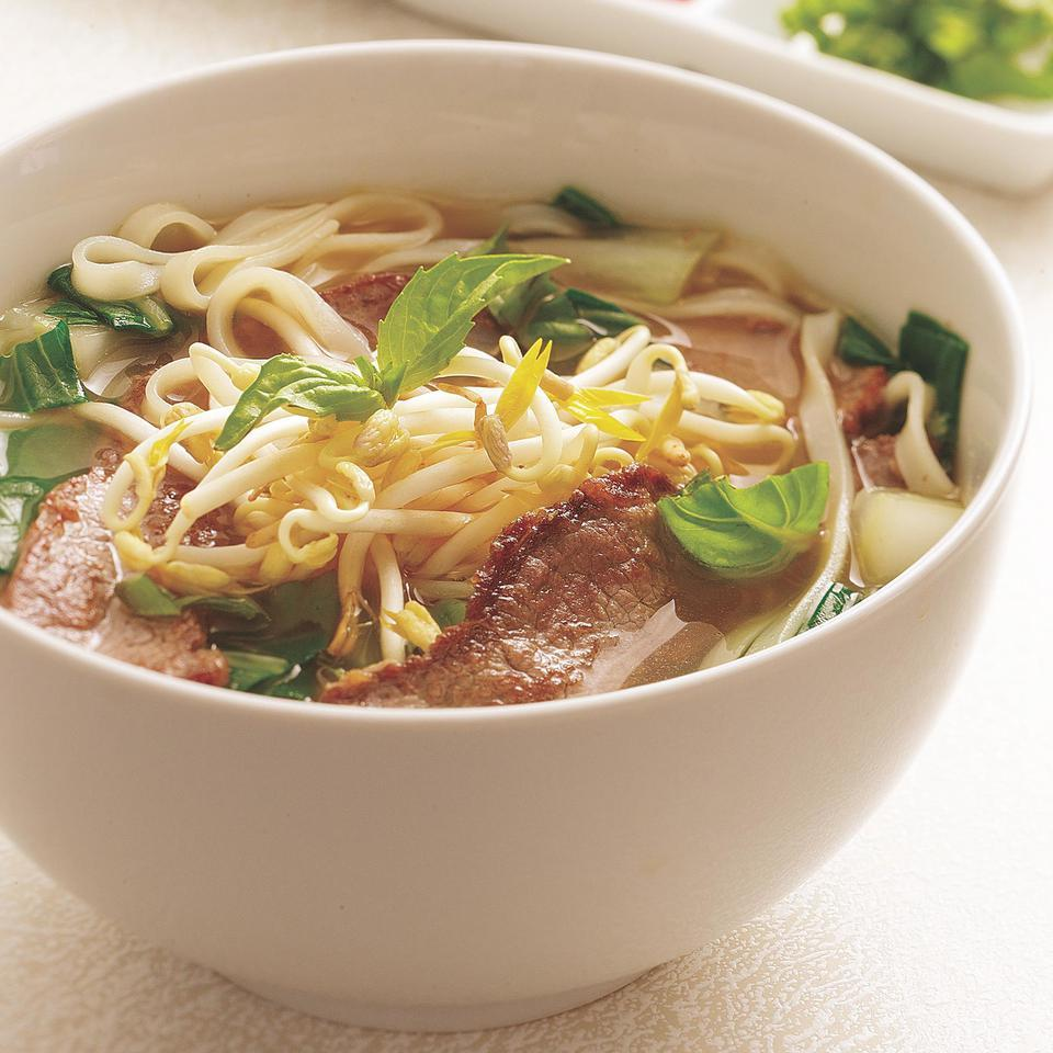 Vietnamese-Style Beef & Noodle Broth EatingWell Test Kitchen