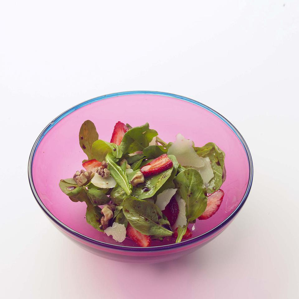 Arugula & Strawberry Salad EatingWell Test Kitchen