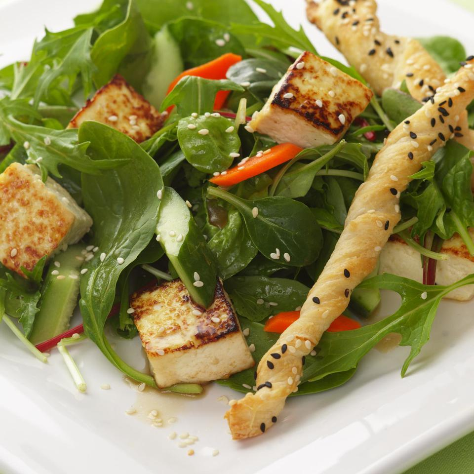 Asian Tofu Salad EatingWell Test Kitchen