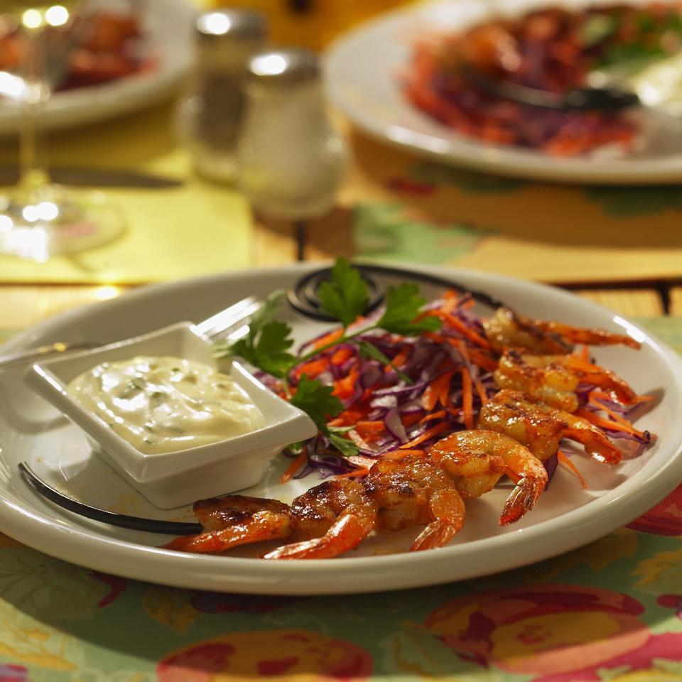 Grilled Shrimp Remoulade Kathy Farrell-Kingsley
