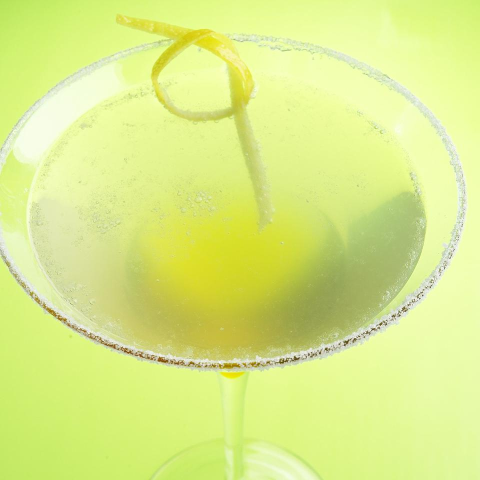 This refreshing beverage adds sparkle to your summer evenings. Source: EatingWell Magazine, June/July 2005