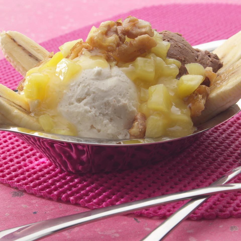 Pineapple-Brown Sugar Topping EatingWell Test Kitchen