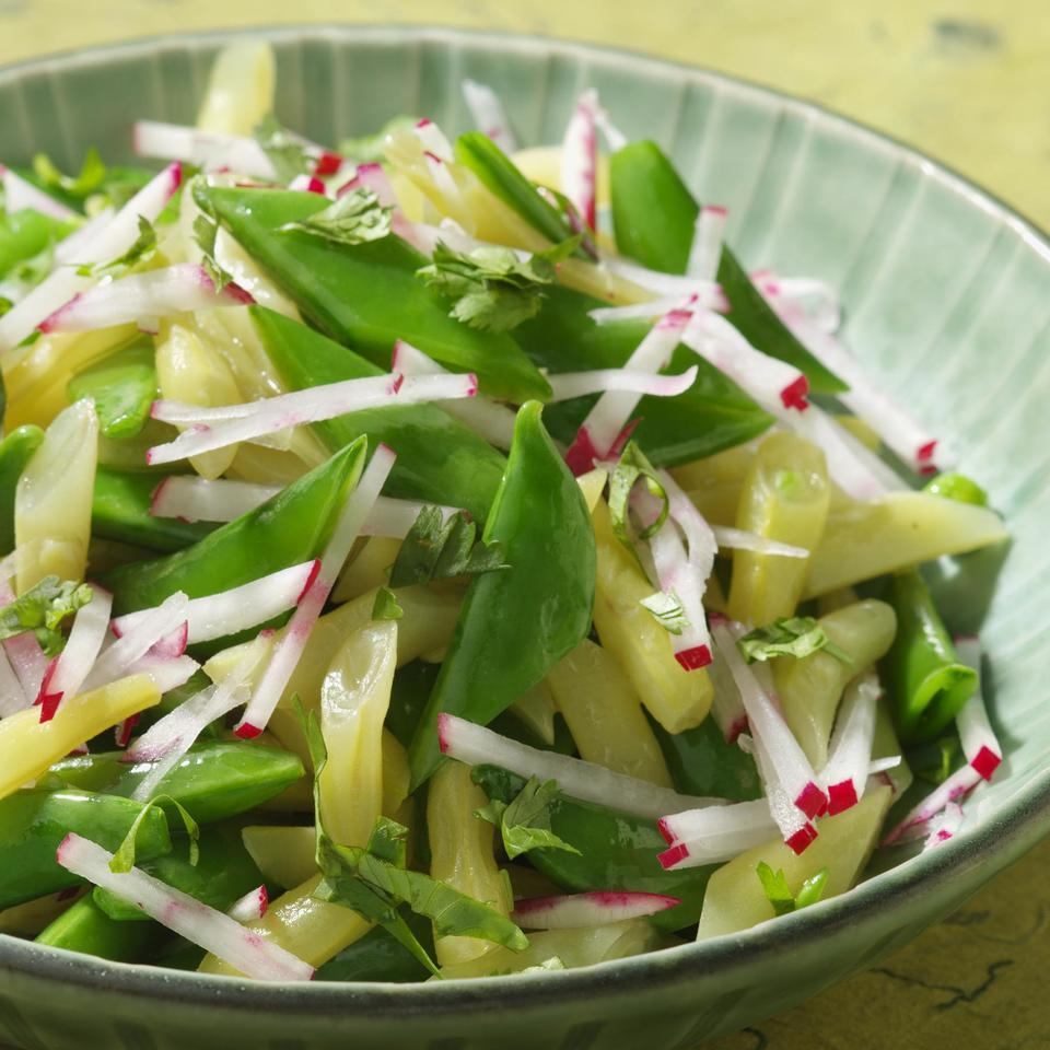 Snap Pea Salad with Radish & Lime EatingWell Test Kitchen