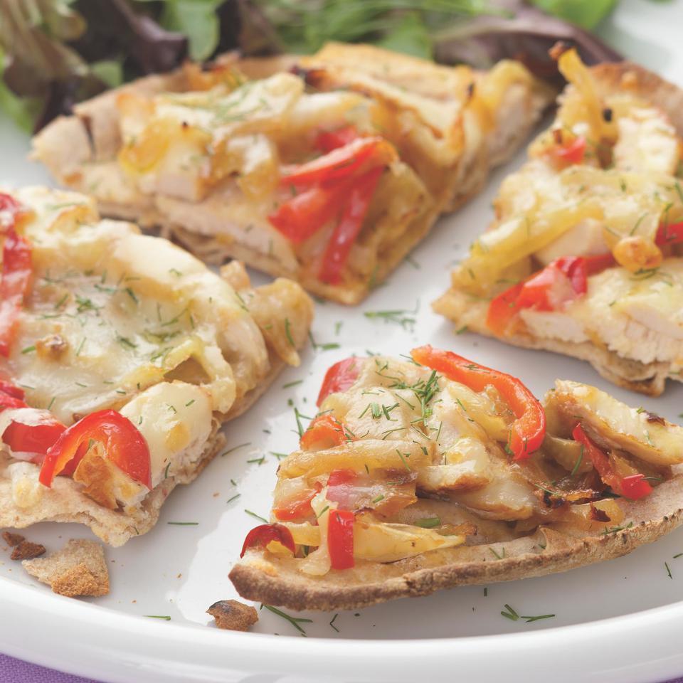 Fennel & Chicken Flatbread EatingWell Test Kitchen