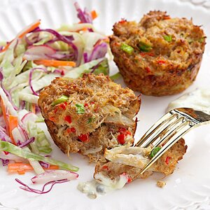 Shrimp & Crab Cakes | EatingWell