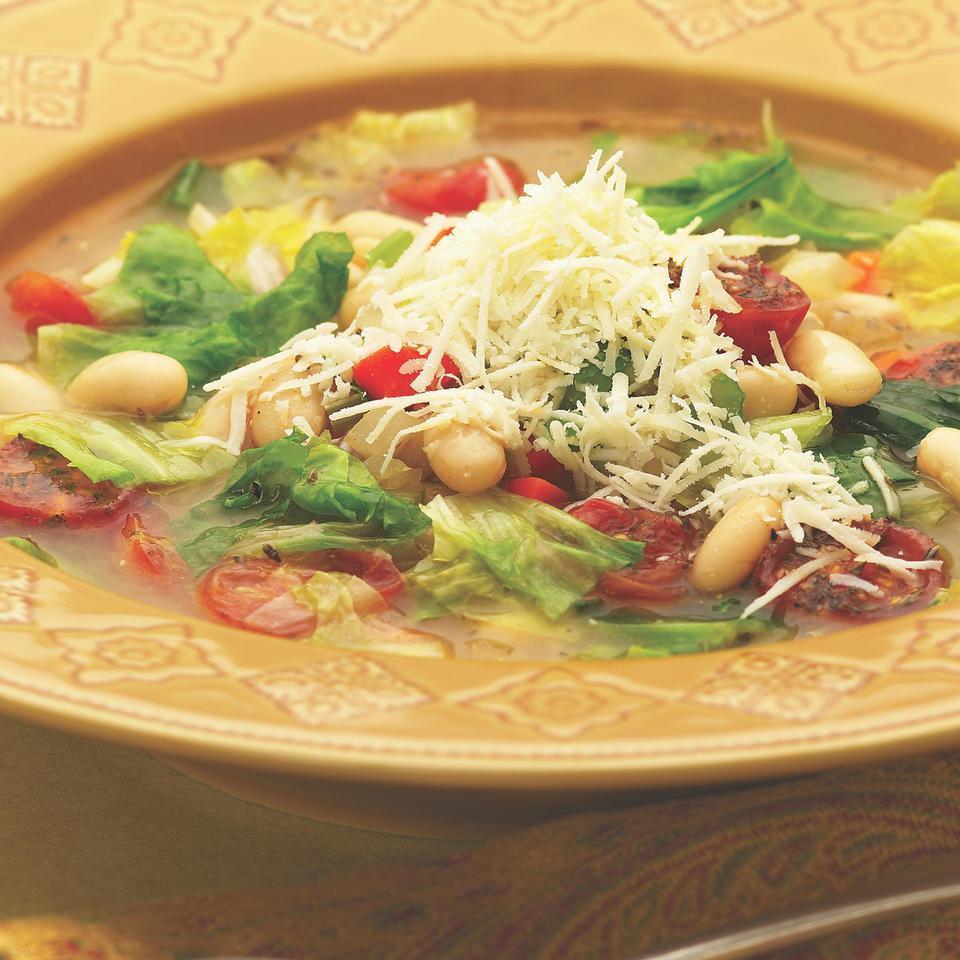 Escarole & White Bean Soup EatingWell Test Kitchen