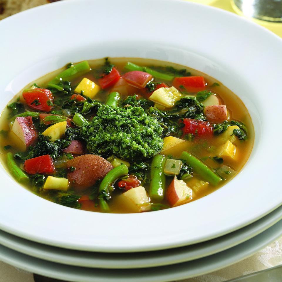 Spicy Vegetable Soup EatingWell Test Kitchen