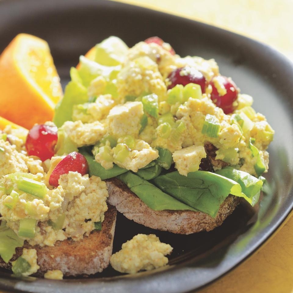 Curried Tofu Salad EatingWell Test Kitchen