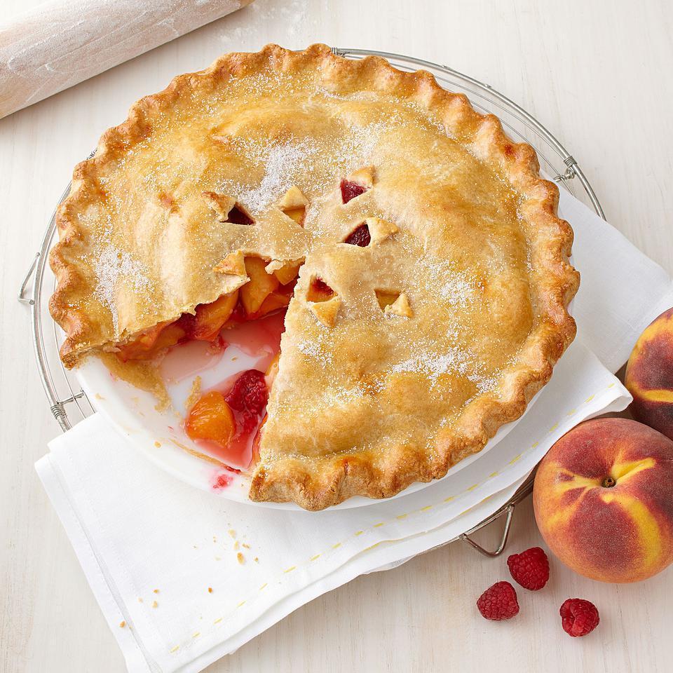 Peach-Raspberry Pie Stacy Fraser