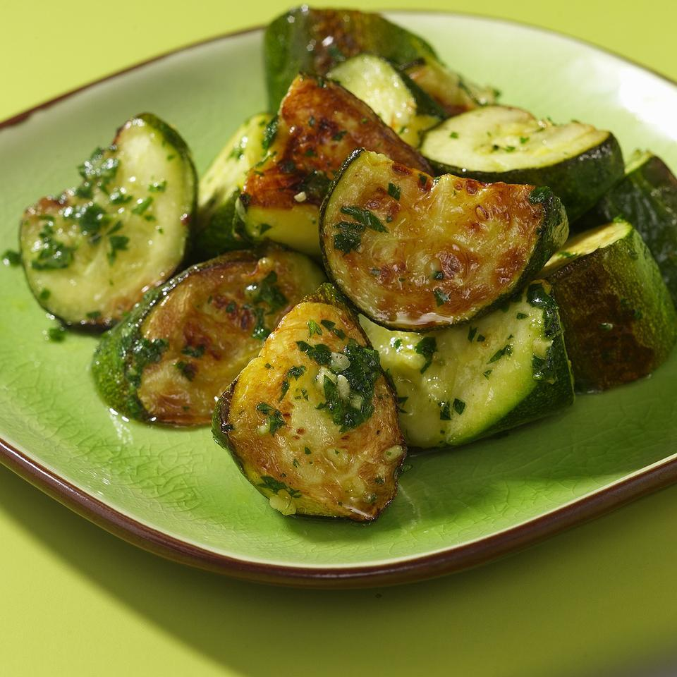 Roasted Zucchini & Pesto EatingWell Test Kitchen