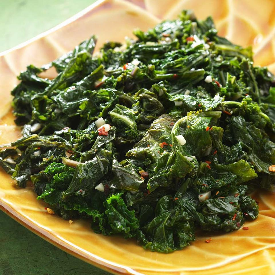 Basic Sautéed Kale EatingWell Test Kitchen