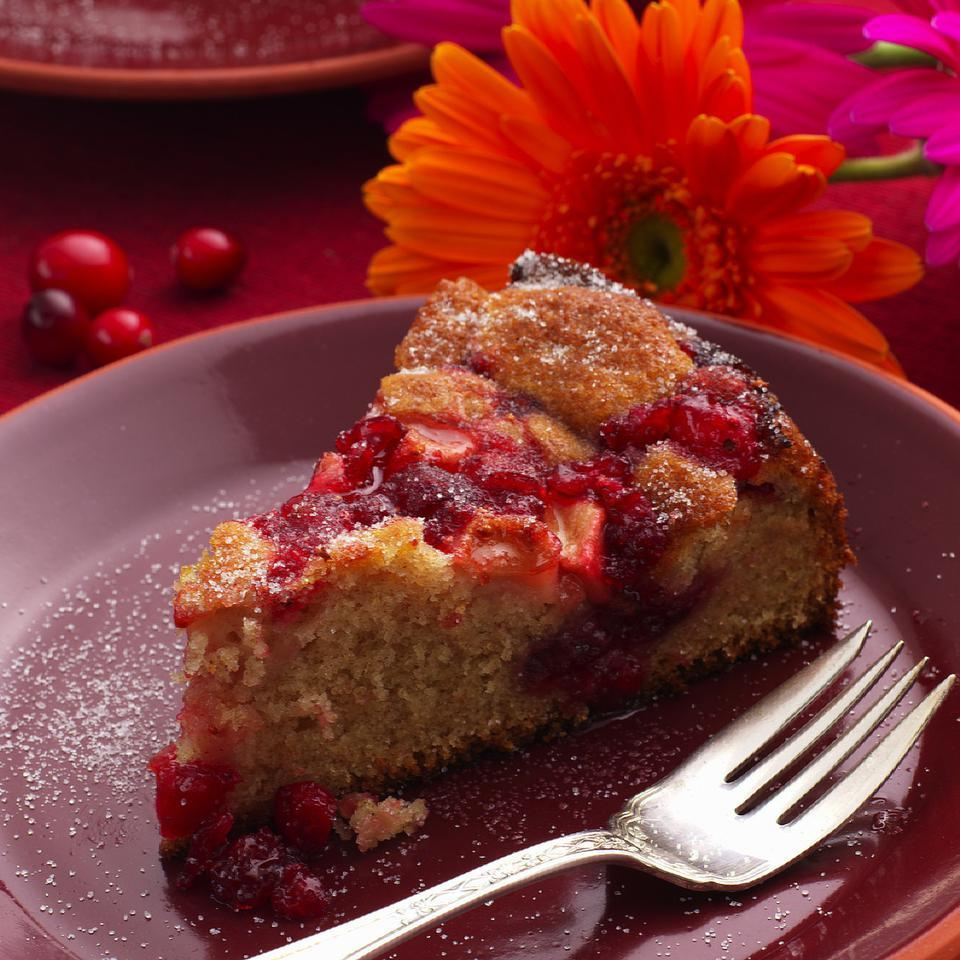 Cranberry-Apple Coffee Cake EatingWell Test Kitchen