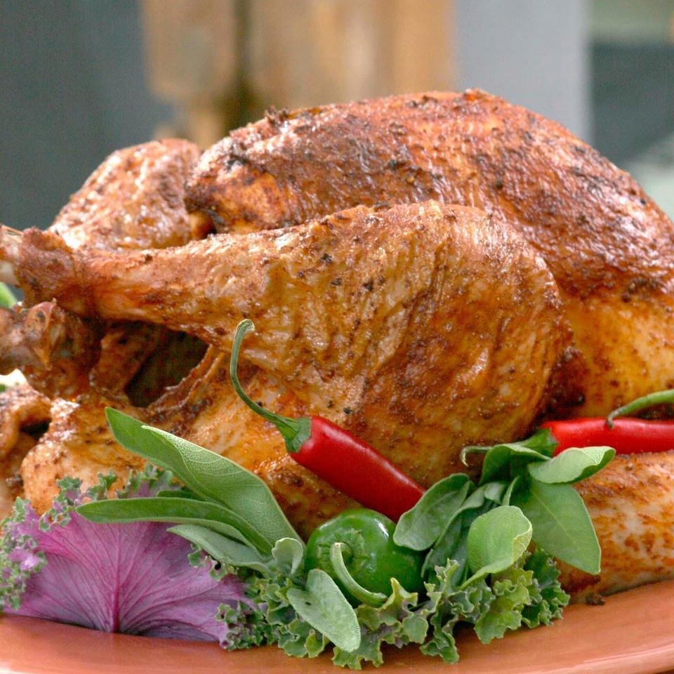 Southwestern Rubbed Turkey EatingWell Test Kitchen