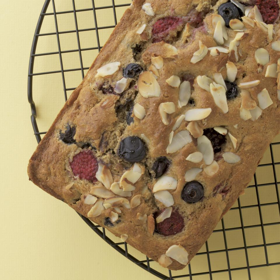 Berry-Almond Quick Bread Stacy Fraser