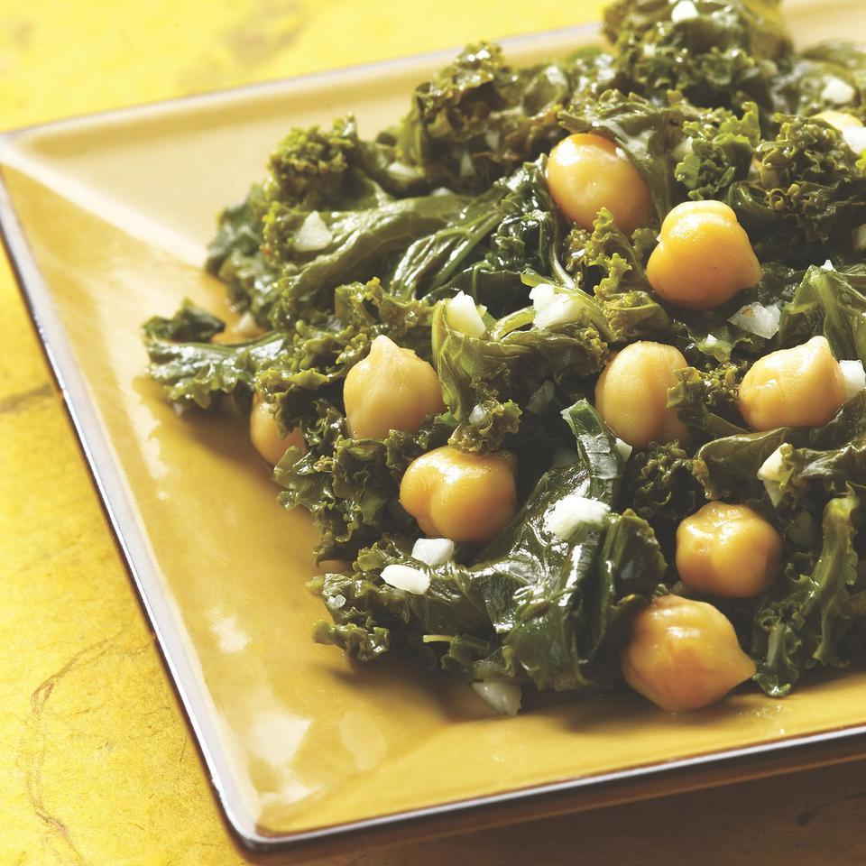 Indian-Spiced Kale & Chickpeas EatingWell Test Kitchen
