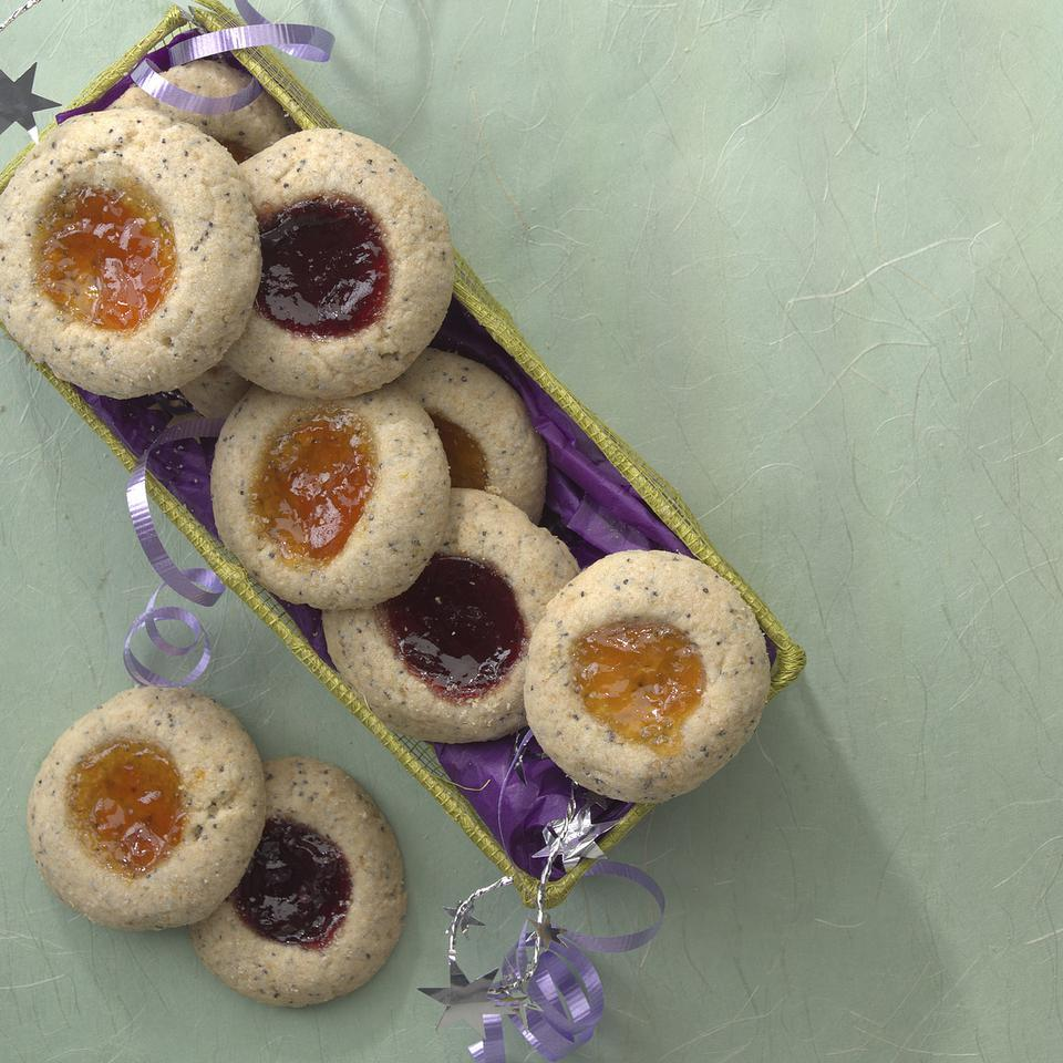 Poppy Seed Thumbprints EatingWell Test Kitchen