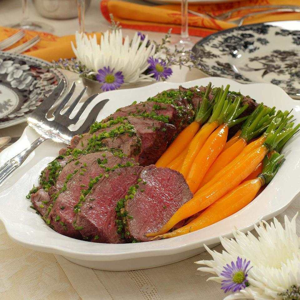 Bistro Beef Tenderloin EatingWell Test Kitchen