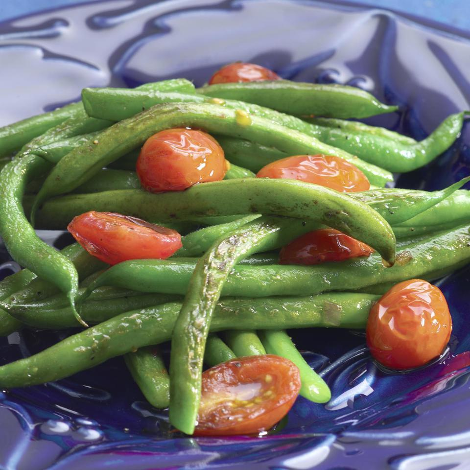 Sautéed Green Beans & Cherry Tomatoes EatingWell Test Kitchen