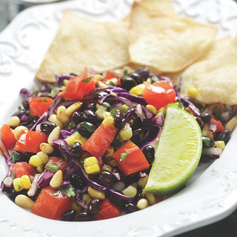 Southwestern Corn & Black Bean Salad EatingWell Test Kitchen