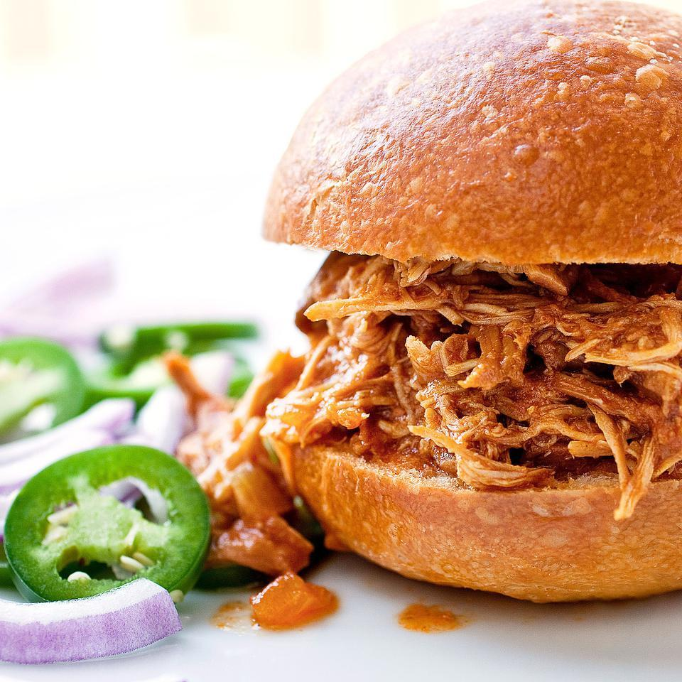 Barbecue Pulled Chicken EatingWell Test Kitchen
