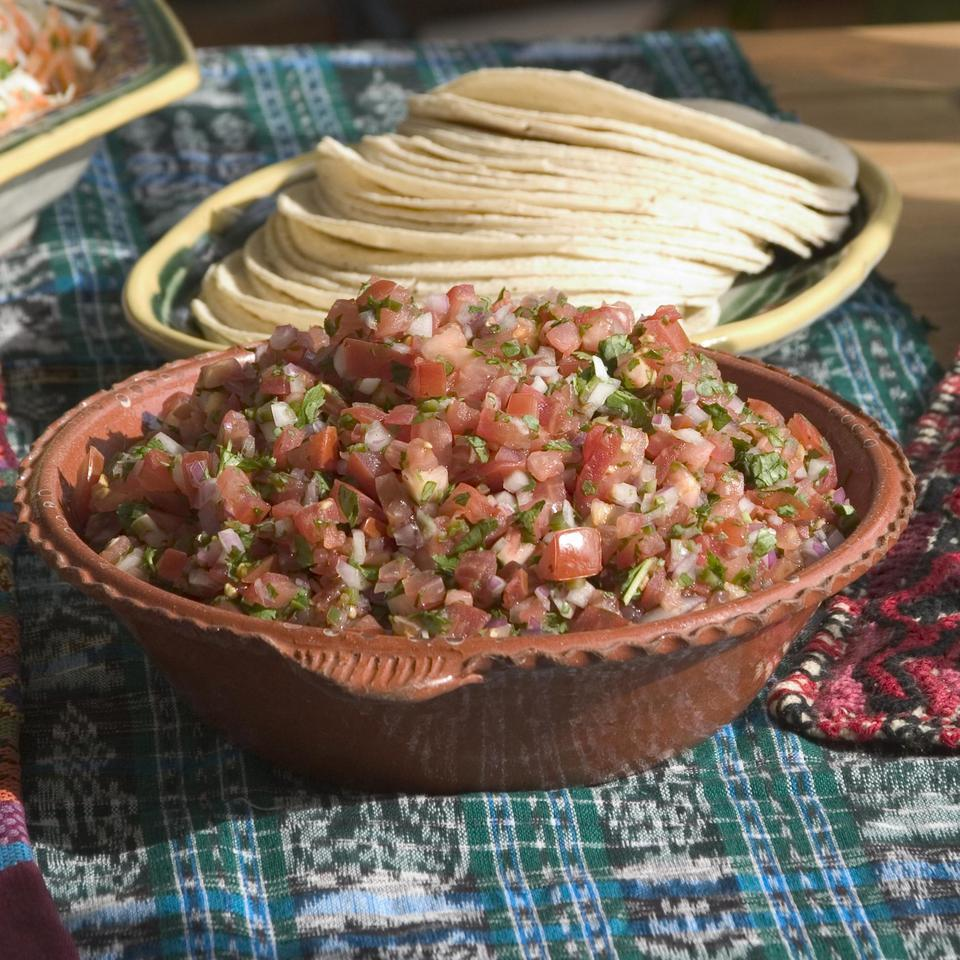 Fresh Tomato Salsa Stacy Fraser