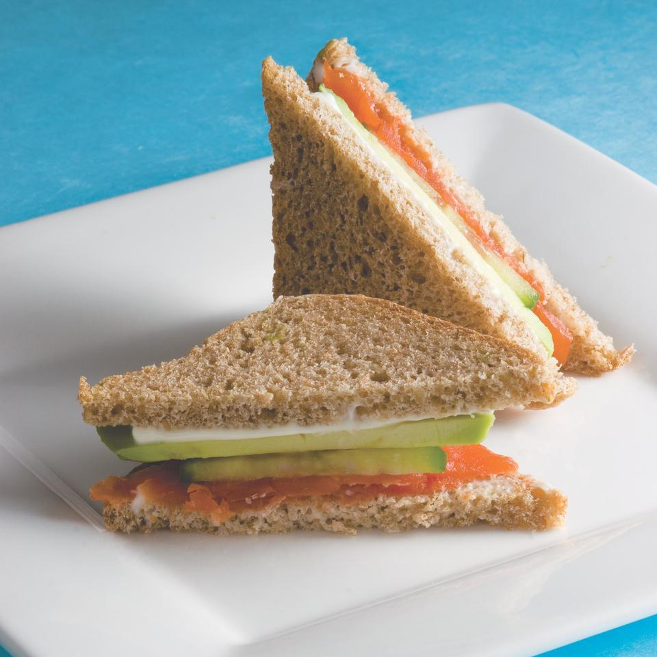 Avocado Tea Sandwiches EatingWell Test Kitchen