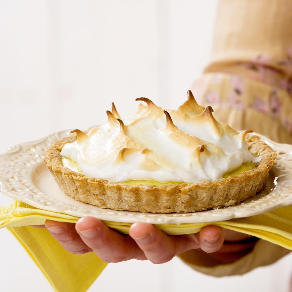 Lemon Meringue Tart for Two EatingWell Test Kitchen