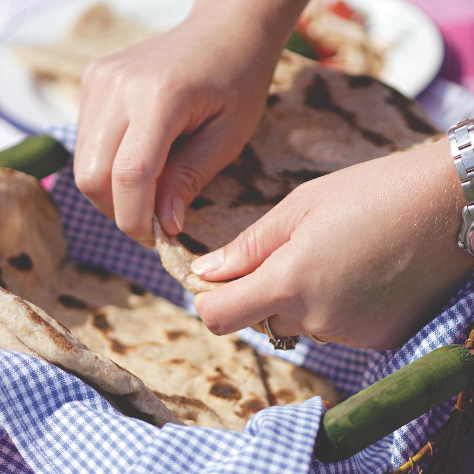 Parmesan Skillet Flatbreads Susan Herr