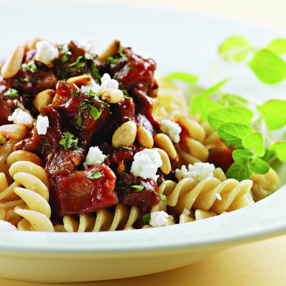 Lamb & Eggplant Ragu EatingWell Test Kitchen