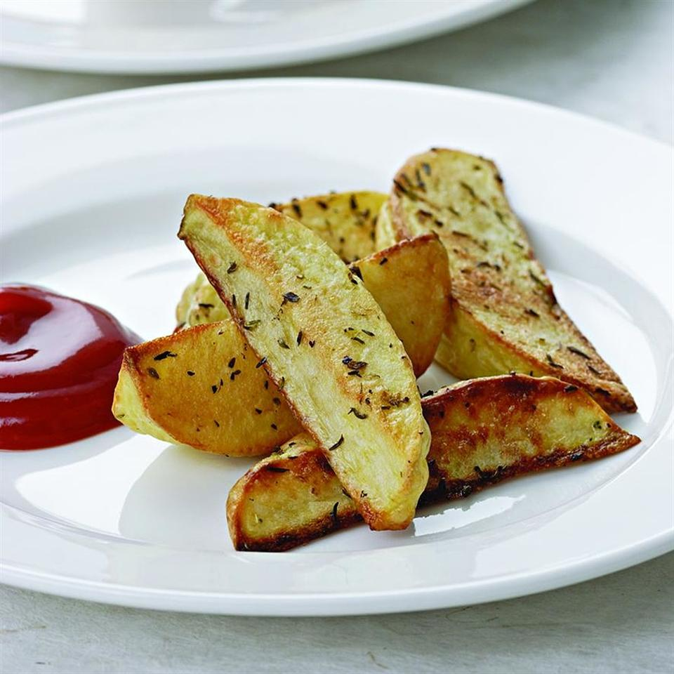 Oven Fries for Two EatingWell Test Kitchen
