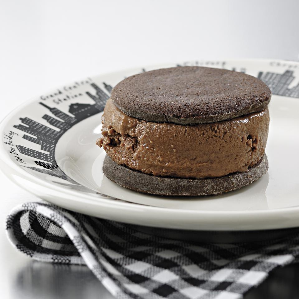 Chocolate Malt Ice Cream Sandwiches EatingWell Test Kitchen