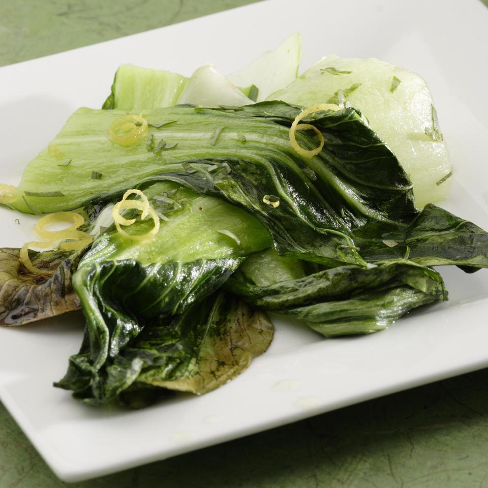 Roasted Baby Bok Choy EatingWell Test Kitchen