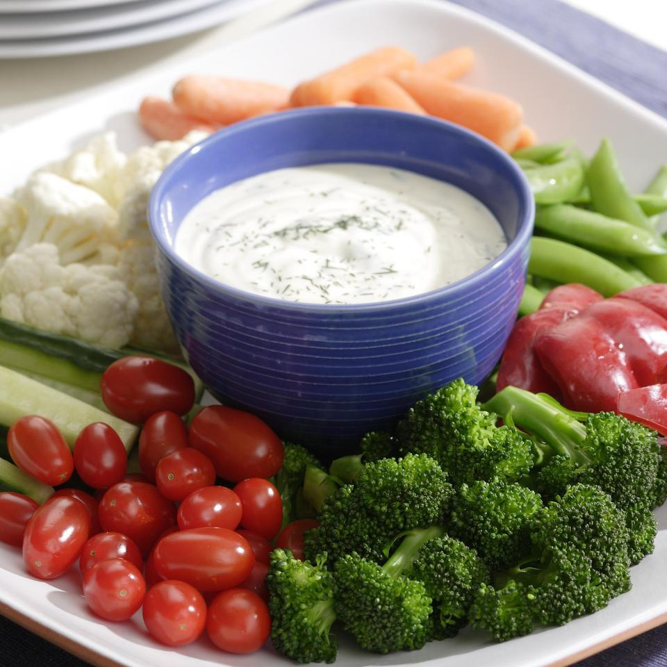 Ranch Dip & Crunchy Vegetables EatingWell Test Kitchen