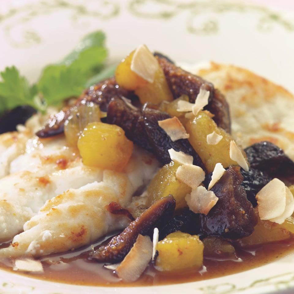 Curried Pineapple & Dried Fig Salsa Marie Simmons