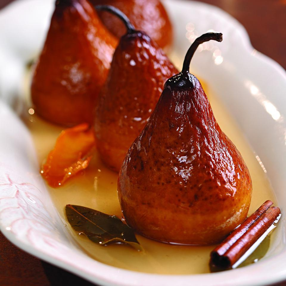 Riesling Baked Pears Marie Simmons