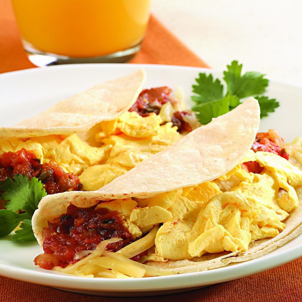 Quick Breakfast Taco EatingWell Test Kitchen
