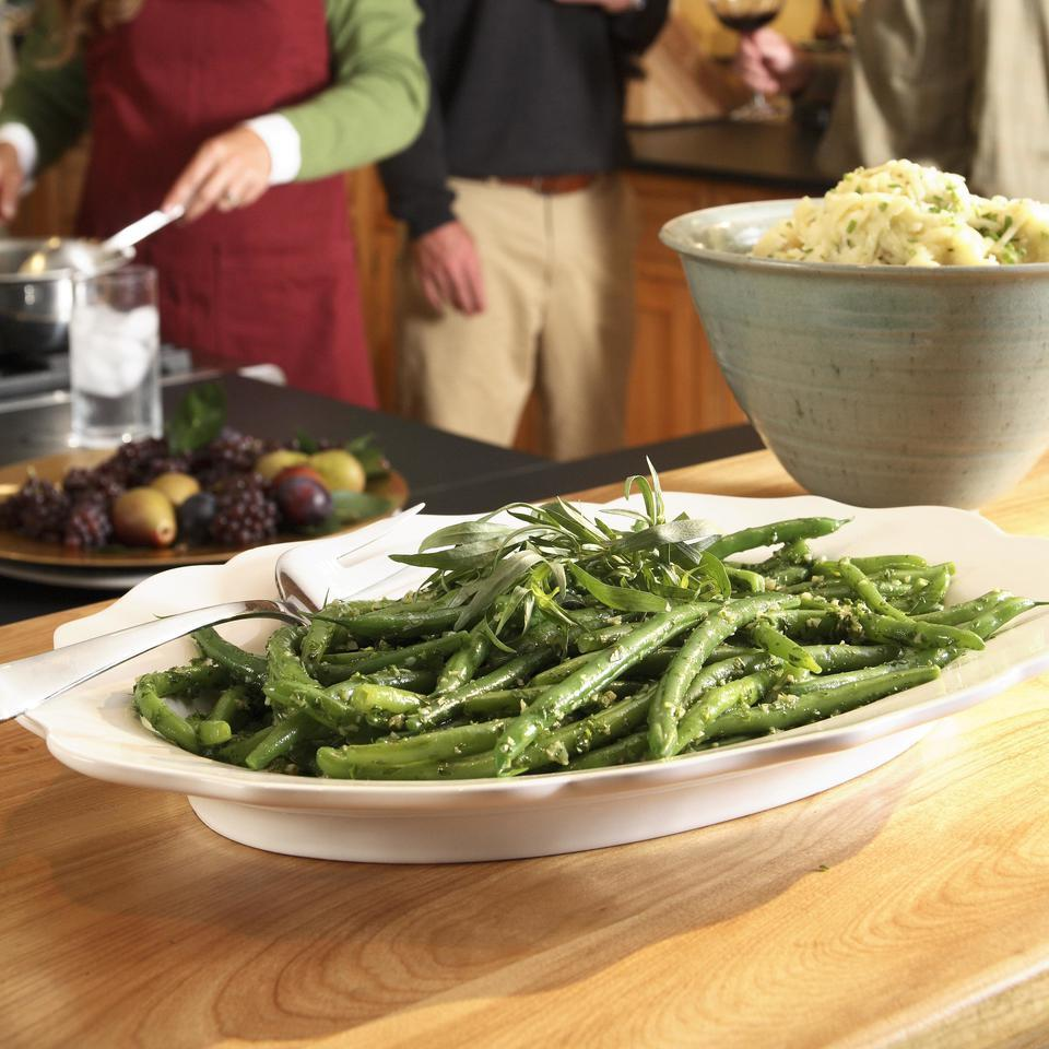Garlicky Green Beans EatingWell Test Kitchen