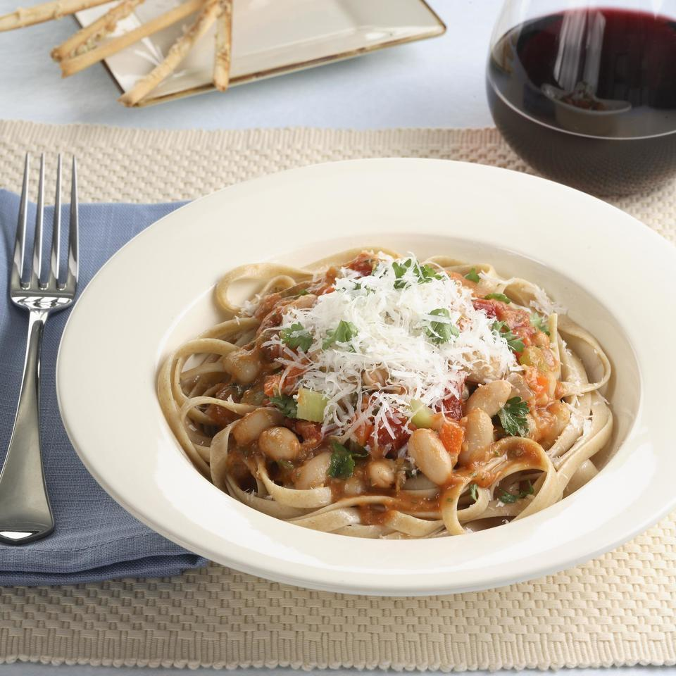 Bean Bolognese EatingWell Test Kitchen