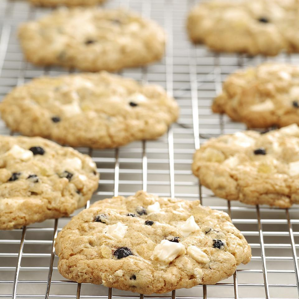 These easy cookies are a real snap to make--just stir and bake.