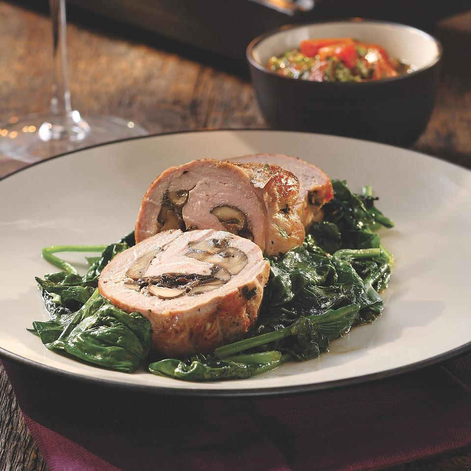 Pork Tenderloin Stuffed with Porcini Mushrooms Bruce Aidells