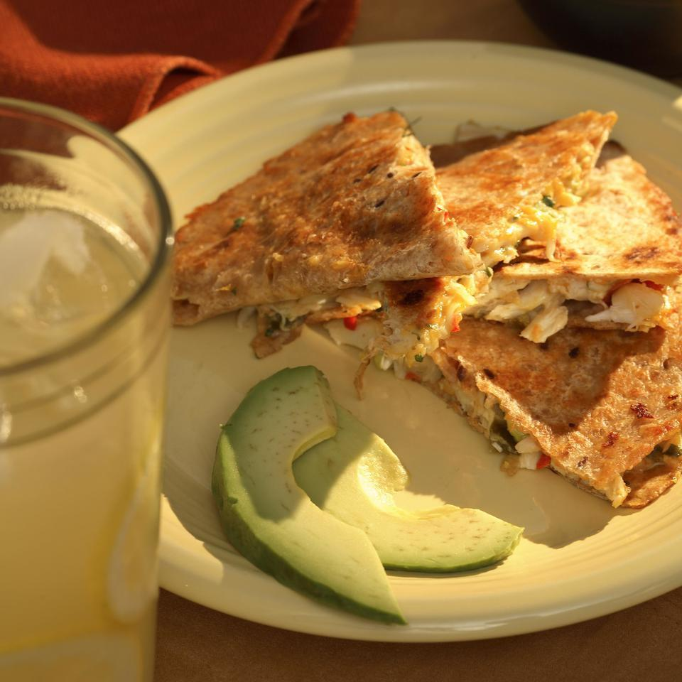 Crab Quesadillas EatingWell Test Kitchen