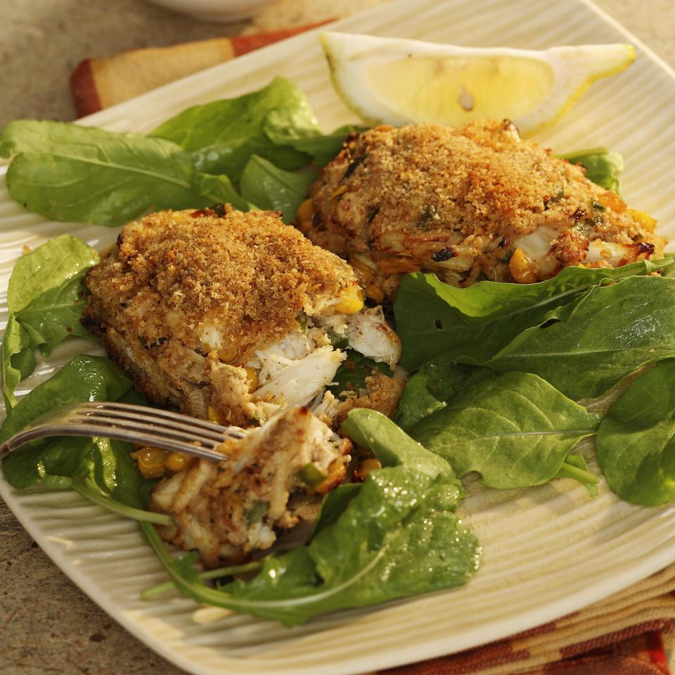 Cajun Crab Croquettes EatingWell Test Kitchen