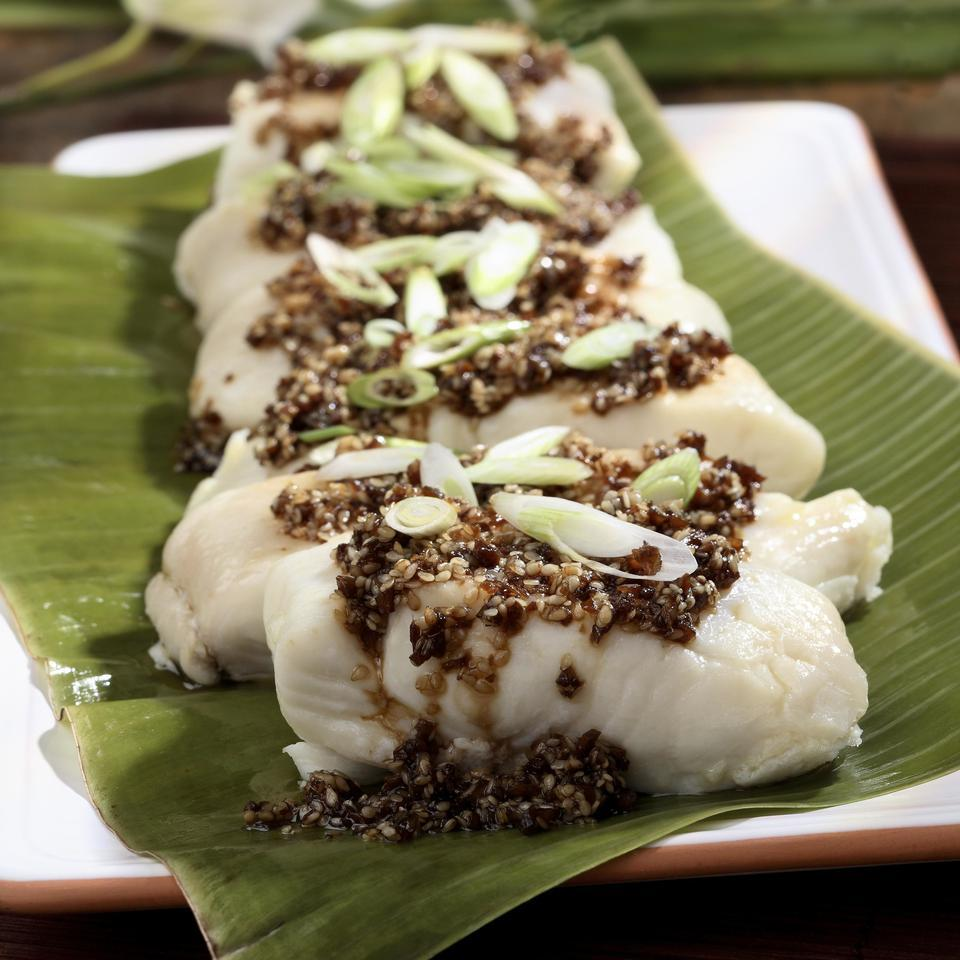 Ginger-Steamed Fish with Troy's Hana-Style Sauce David Patterson