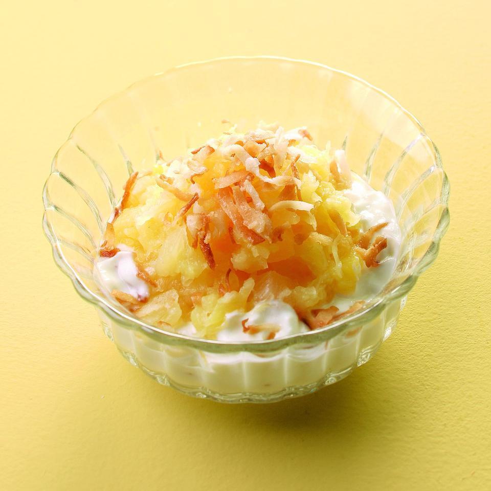 Pina Colada Yogurt Parfait EatingWell Test Kitchen