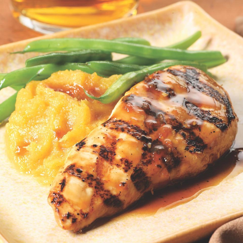 Maple-Glazed Chicken Breasts EatingWell Test Kitchen