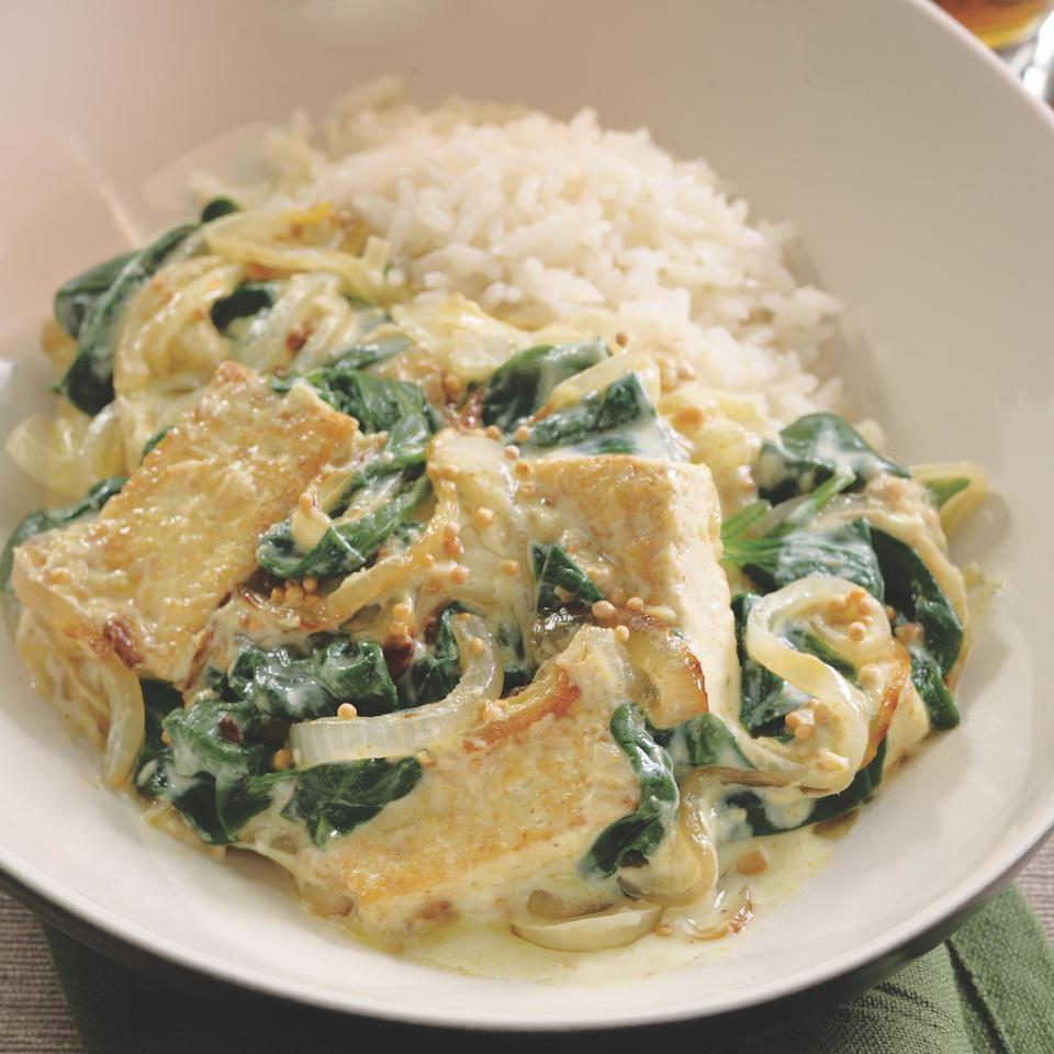 Saag Tofu EatingWell Test Kitchen