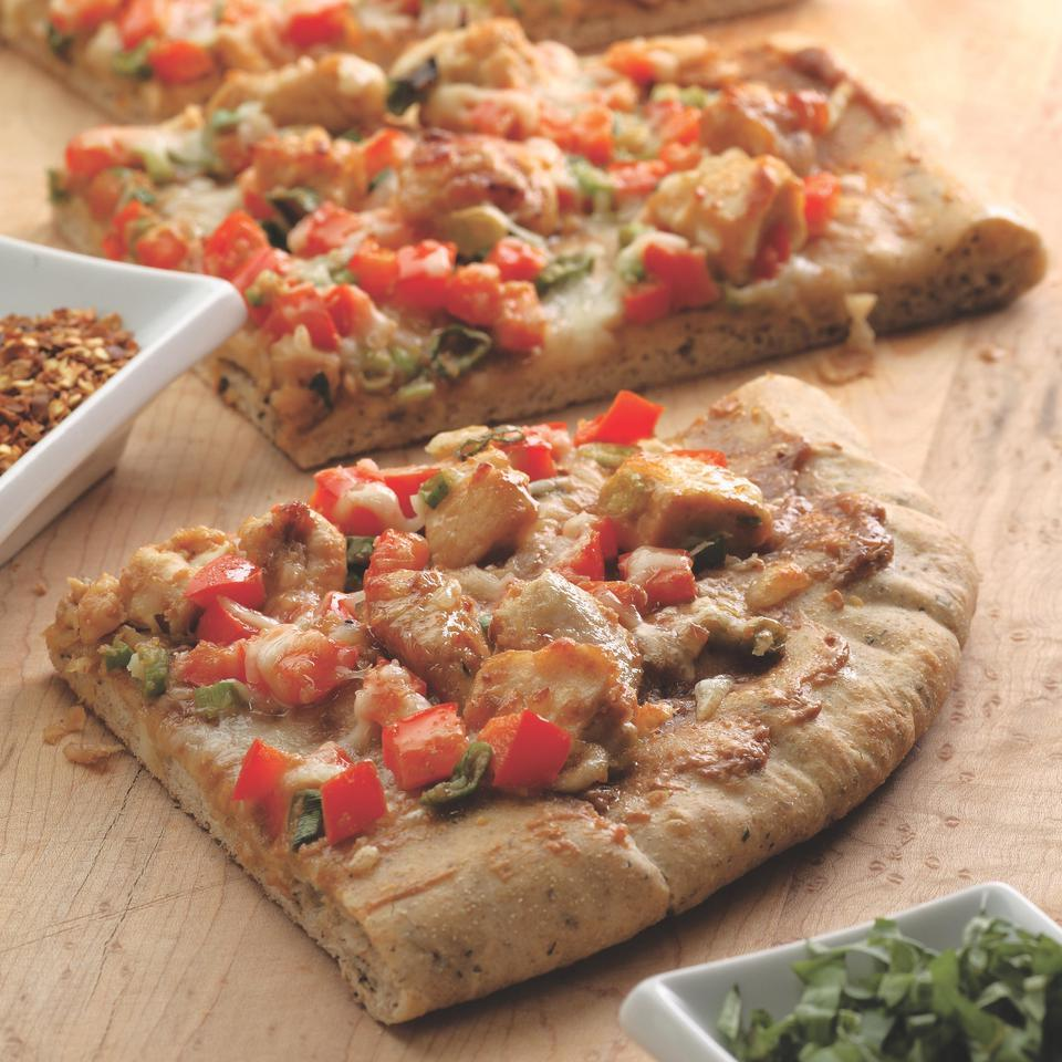 Thai Chicken Pizza EatingWell Test Kitchen
